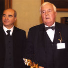 premio capo circeo prof. cambareri  con ing. claus hofmann