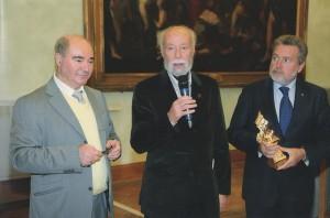 Scan Pecc 2013 Giuseppe Spadaro riceve il premio da Carlo Sgand