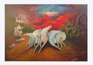 benedetto robazza cavalli  pittura 670_0_2681357_73197