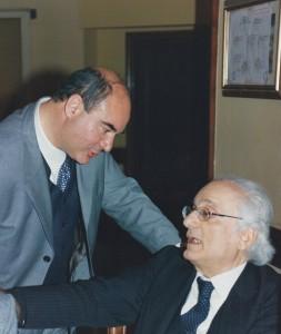 1997 12 13 PCC D. Cambareri con il Presidente IISF in Napoli G