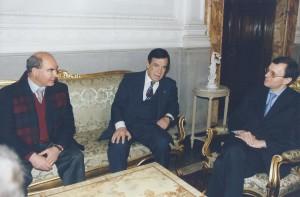 2002 PECC per Putin -da sn D. Cambareri - G. Ragno - Amb. NiK