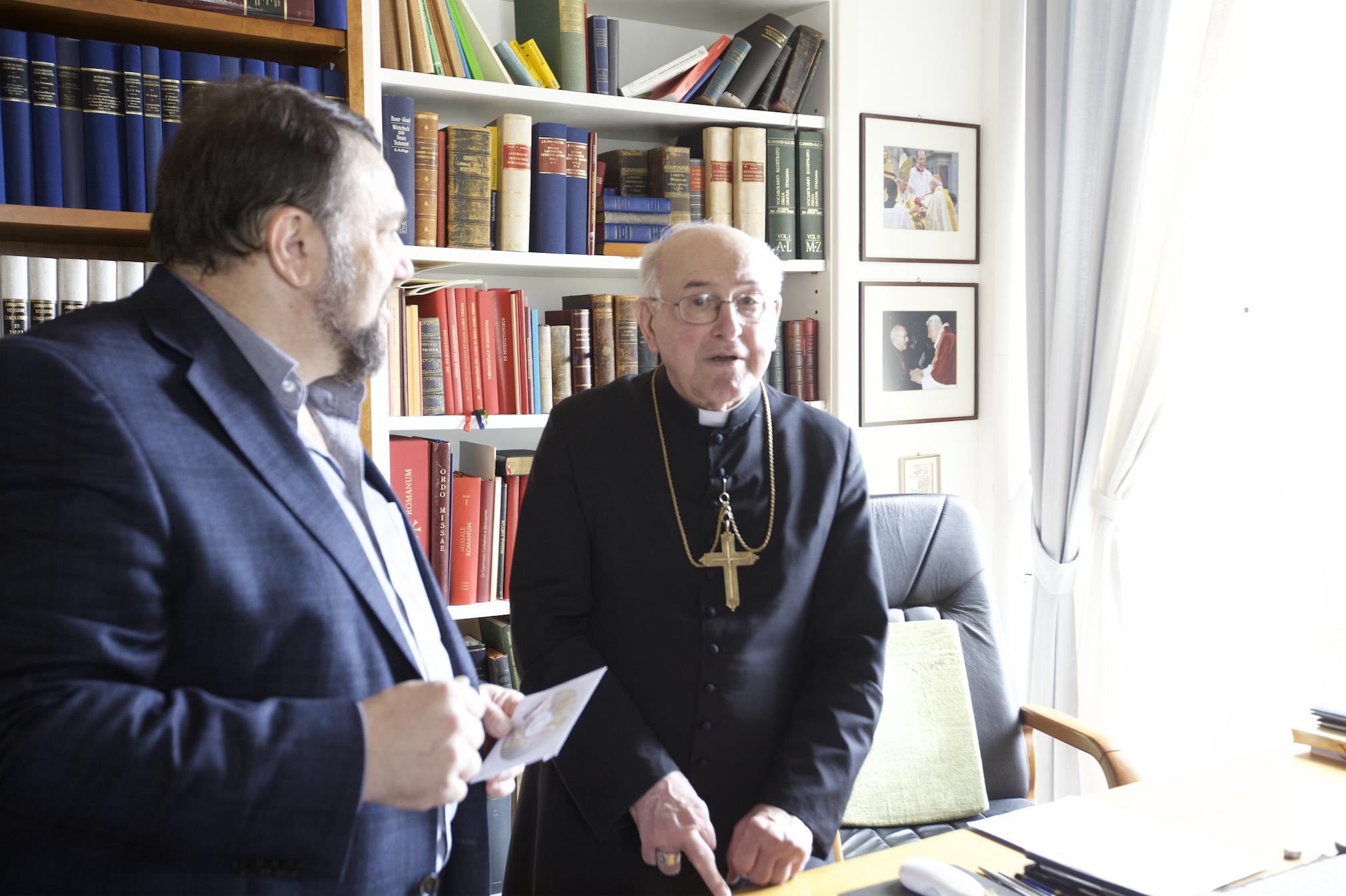 Cardinale Branmuller e E.Reznokov 2