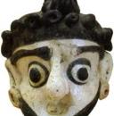 museo del bardo pendente vitreo masque04
