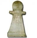 museo del bardo stele votiva a forma di simbolo di tanit